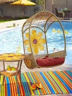 Nothing's more fitting for a whimsical summer day than a Daisy Swingasan® - all you need for a free sunny day B)
