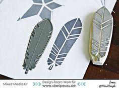 -DIY Stempel zu Stanzformen machen | Tutorial von Irma de Jager für www.danipeuss.de #danipeuss #diecutting #diystamps