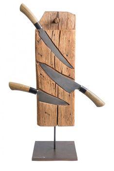 (Einzigartiges mit Stil: Messerblock Holz aus dem Jahr 1670 bei UNIKATOOから)
