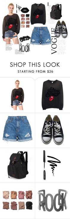 """Untitled #47"" by ajladelicc ❤ liked on Polyvore featuring MadeWorn, Nobody Denim, Converse, Bobbi Brown Cosmetics, Illamasqua, Steve Madden and Dsquared2"