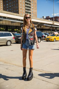 Check Out All the Street Style From #NYFW Day 7. #fashion #streetsyle