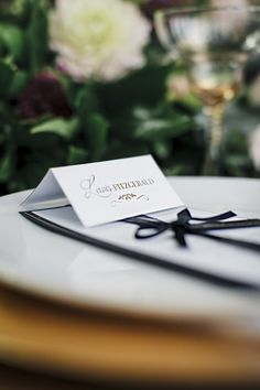 Wedding Ideas and Inspiration. Using a combination of black and white, gold, greenery and berry tones.  Wedding Stationery: Part of the 'EMPEROR' collection by Paper Date.  Photography: Aurelia Allen Photography Decor and Flowers: Lumi Event Design