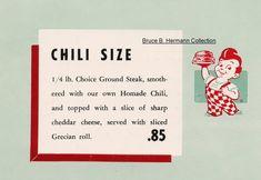 Big Boys, Chili, Bobs, Tabletop, Tent, Retro, Collection, Store, Chile