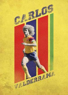 Carlos Valderrama of Colombia wallpaper.