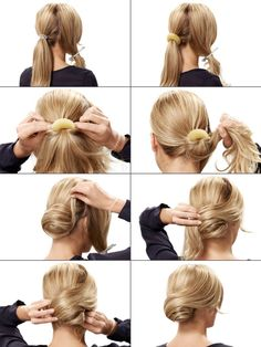Festliche Frisuren: Festfrisuren selber machen retro chignon als festliche frisur The post Festliche Frisuren: Festfrisuren selber machen appeared first on Best Of Likes Share. DIY Makeup retro chignon as a festive hairstyle Retro-Chignon als festliche Fr Work Hairstyles, Elegant Hairstyles, Wedding Hairstyles, Beautiful Hairstyles, Braid Hairstyles, Simple Everyday Hairstyles, Chignon Hairstyle, Interview Hairstyles, Teenage Hairstyles