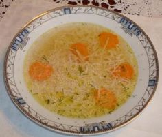 Polish Rosol (Ploish Broth) ♥ So Much Begins with a Meal... (GP: take out leeks & celery, chop onions & parsley finely)
