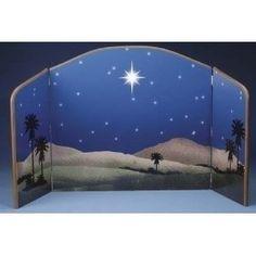 Star of Bethlehem Nativity Background Scene
