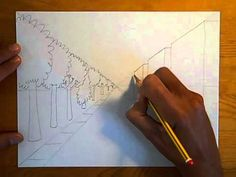 LESSON 5B: One-Point Perspective Cityscape - YouTube