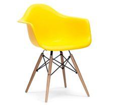 Eames Inspired Eiffel Plastic DAW Lounge Dining Arm Chairs - Retro - Classic