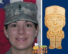 Marine Corps - Birthday Party Ideas - Custom - Cookies - Personalized - Party Favors