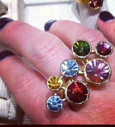 Color pop ring by Tom Munsteiner available at Quadrum- photo credits: www.instagram.com/jewelry_maven