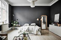 Mur Noir En Déco   Visite Du0027un Appartement Incroyable   Clem ATC