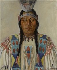 Standing Bear, Apache by Jessie Robison