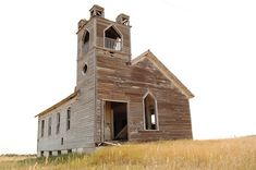abandoned church, ND