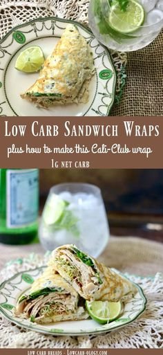 Low Carb Sandwich Wraps