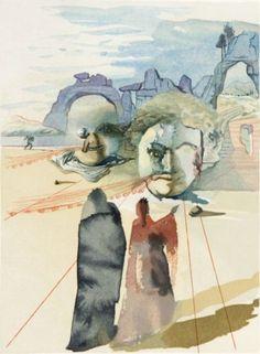 DALI (Salvador) & DANTE ALIGHIERI La Divine Comédie. Illustrations de Dali Paris Edi
