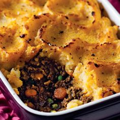 Ostrich cottage pie topped with butternut mash Mince Recipes, Banting Recipes, Pasta Recipes, Healthy Dishes, Healthy Eating, Healthy Life, Healthy Food, Kos, Ostrich Meat