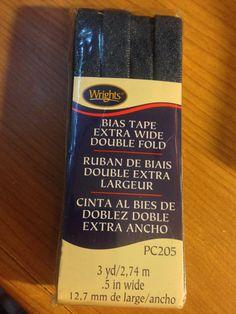 Wrights      Denim Bias Tape   NEW  Bias by CynthiasCraftingNook