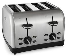 Oster TSSTTRWF4S 4-Slice Toaster - http://sleepychef.com/oster-tssttrwf4s-4-slice-toaster/