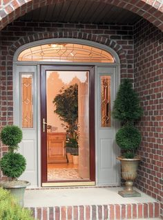 STORM DOORS: Energy Efficiency isn't just for windows. Installing a storm door will banish drafts and bring down your energy bills too. Call us for more info about our storm doors. Aluminum Storm Doors, Glass Storm Doors, Glass Front Door, Glass Door, Glass Art, Exterior Doors, Entry Doors, Entryway, Security Storm Doors