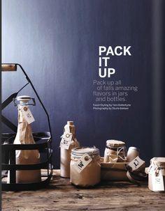VM idea paper wrapped bottles