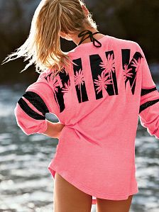Hoodies and Sweatshirts as cover ups - PINK