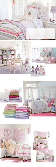 Girls Bedroom Ideas  Girls Room Ideas | Pottery Barn Kids