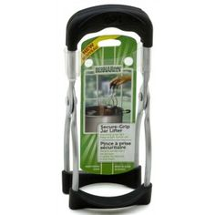 Shop online for Bernardin Jar Lifter - Secure Grip at Golda's Kitchen; the leading Canadian on-line shopping site for quality bakeware, cookware, and cake decorating supplies. Home Canning, Triangle Design, Circle Design, Wide Mouth Mason Jars, Holiday Hours, Cake Decorating Supplies, Canadian Tire