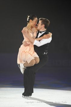 Jeffrey Buttle and Mao Asada