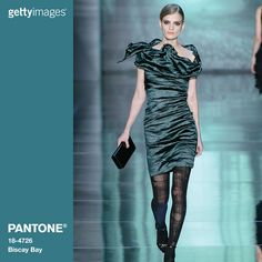 Each season PANTONE® creates a Fashion Color Report outlining the key color trends. Here the top 10 colors for Fall 2015 come to life on the runway. Top Row (L-R): Naomi Campbell wears Marsala on the...