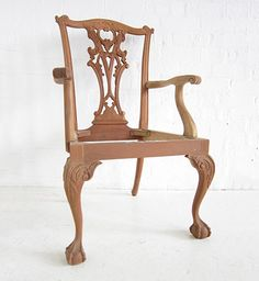 Traditional Chippendale Armchair / Chippendale American Carver / Dutch Connection