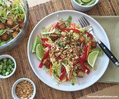 Stir-Fry Inspired Salad - vegan