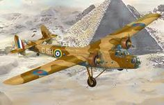 R.A.F Bristol Bombay of the British Desert Air Force June 1940
