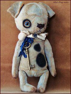 "Puppy Dog 10"" By Alla Bears"