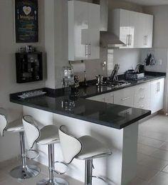 Cocinas Integrales Proyeccsa - Late Tutorial and Ideas Kitchen Room Design, Modern Kitchen Design, Home Decor Kitchen, Interior Design Kitchen, Home Kitchens, Modern Kitchens, Small Kitchens, Kitchen Colors, Kitchen Layout