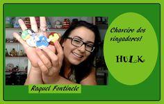 DIY-  Chaveiro dos Vingadores - HULK - Biscuit - Raquel Fontinele