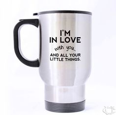 Sell Cute love quotes One Direction, 5 Second Of Summer Travel Mug