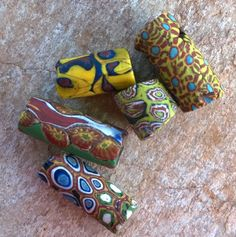 African Trade BeadsVintage Venetian Glass Beads6 by RedEarthBeads