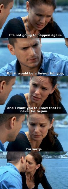 Prison Break S04E05 Michael & Sara.