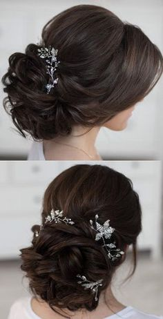 wedding beauty tips Featured Hairstyle: tonyastylist (Tonya Pushkareva) .com/tonyastylist/; Wedding Hairstyles For Long Hair, Wedding Hair And Makeup, Bride Hairstyles, Hair Makeup, Wedding Beauty, Pretty Hairstyles, Short Hairstyles, Wedding Hair Roses, Hair Styles For Wedding