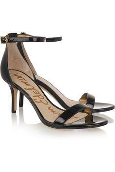 SAM EDELMAN Patti patent-leather sandals  €105.00 https://www.net-a-porter.com/products/645298