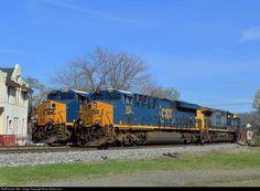 Covington Kentucky, Csx Transportation, Trains, Train