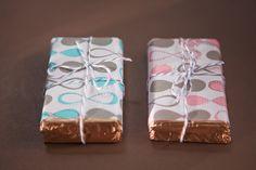 Barrinha de chocolate personalizada para lembrança do casamento!   Lembrancinhas de Casamento