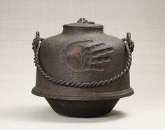 Hand 押文 Yugama <on your Simon Yugama> <br> iron cast made of the Edo…