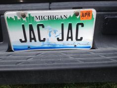 Couldn't resist this plate with my name on it twice.