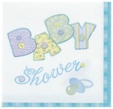 Stitch Theme napkin T Baby, Beverage Napkins, Party Supplies, Baby Gifts, Stationery, Baby Shower, Tableware, Blue, Stitching