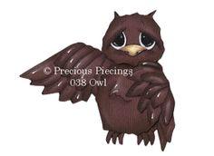 Owl from precious piecings