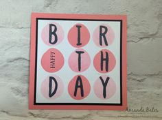 The Craft Spa - Stampin' Up! UK independent demonstrator : New In Colour Flirty Flamingo projects
