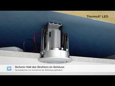 Einbaugehäuse ThermoX® LED - YouTube Led, Exterior, Youtube, Outdoor Rooms, Youtubers, Youtube Movies