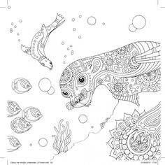 Seal Free Pattern Download #adultcolouring #free